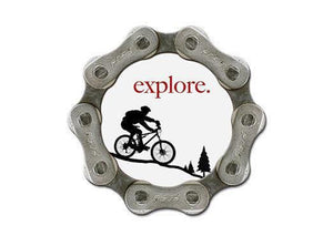 Resource Revival Bike Chain Magnet