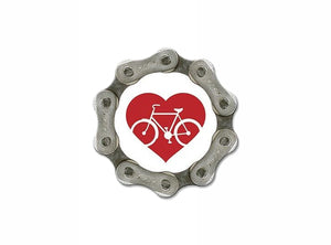 Resource Revival Chain Magnet - Red Heart
