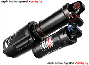 RockShox Vivid Air R2C - Black Decals