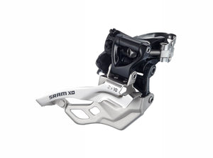 SRAM X0 2x10 High Clamp Front Derailleur - Top Pull
