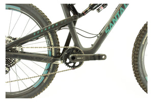 Santa Cruz Bronson 2 CC X01/ENVE Kit - Black - Large - Demo 2