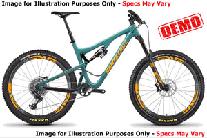 Santa Cruz Bronson 2 CC X01/ENVE Kit - Slate Blue - Medium - Demo 6