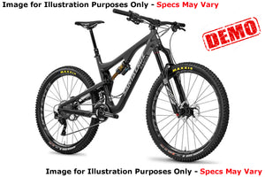 Santa Cruz Bronson 2 CC XT Kit - Black - Medium - Demo 1