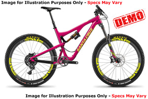 Santa Cruz Bronson 2 CC XX1/ENVE Kit - Pink - Large - Demo 1
