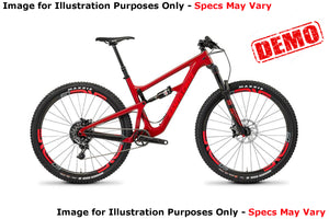 Santa Cruz Hightower 29 CC X01 Kit - Red - Small - Demo 1