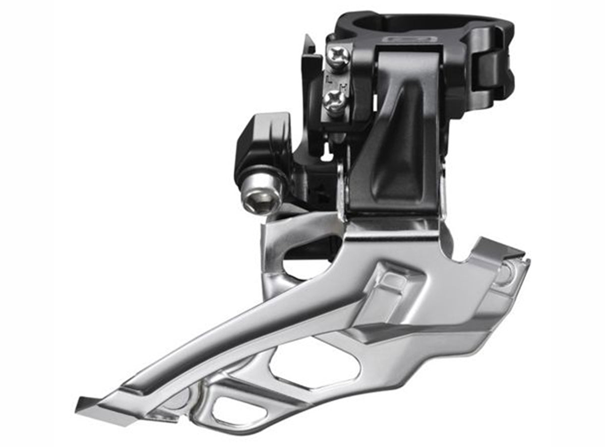 Shimano Deore M616 2x10 High Clamp Front Derailleur - Top Pull