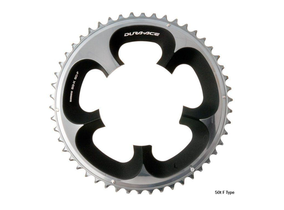 Shimano Dura-Ace 7950 50t 110mm 10-Speed Chainring