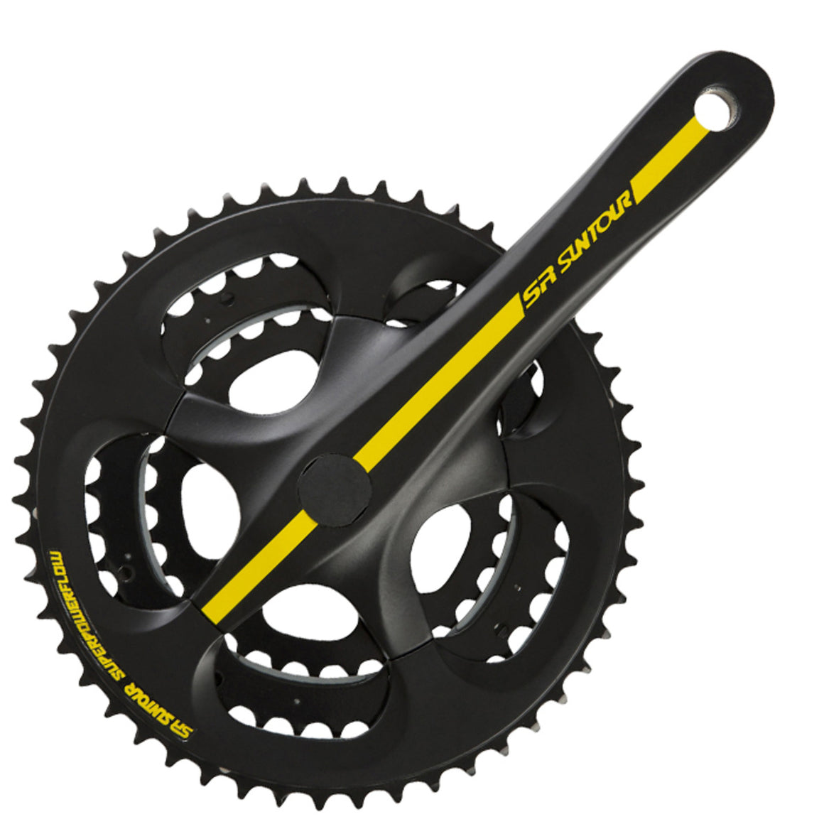 Suntour VX-T 9 Speed Triple Road Crankset