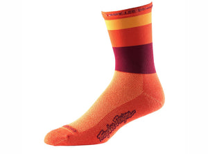 Troy Lee Designs Ace Performance Crew Sock - Horizon Orange