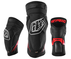 Troy Lee Designs Raid Knee Guard - Black