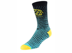 Troy Lee Designs Tremor Crew Sock - Turquoise
