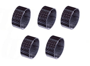 "Vuelta Carbon Headset Spacers - 1.1/8"" x 15mm - Bag Of 5"