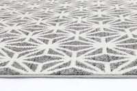 Brooklyn Modern Web Grey Rug