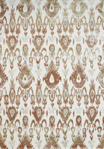 Kourtney Ikat Rust Rug