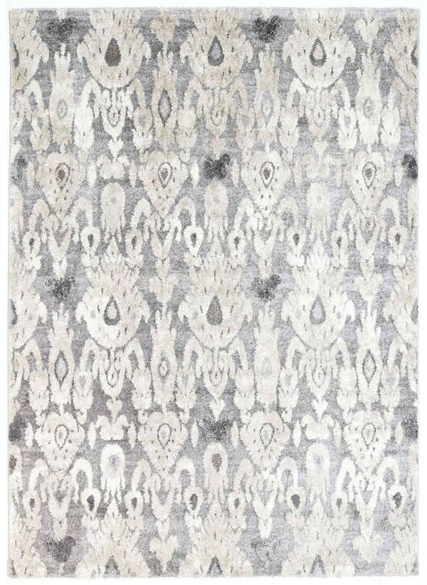 Momo Ikate Grey Cream Rug