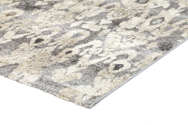 Angie Ikate Grey Cream Rug