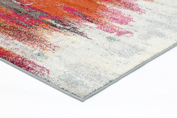 Monique Multi Coloured Art Rug