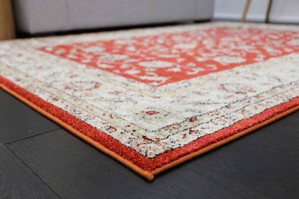Monique Vintage Ziegler Rust Rug