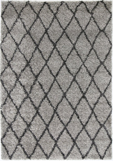 CHARLIE DIAMOND GREY CHARCOAL SHAG