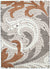 Momo Orange Mosaic Motif Rug