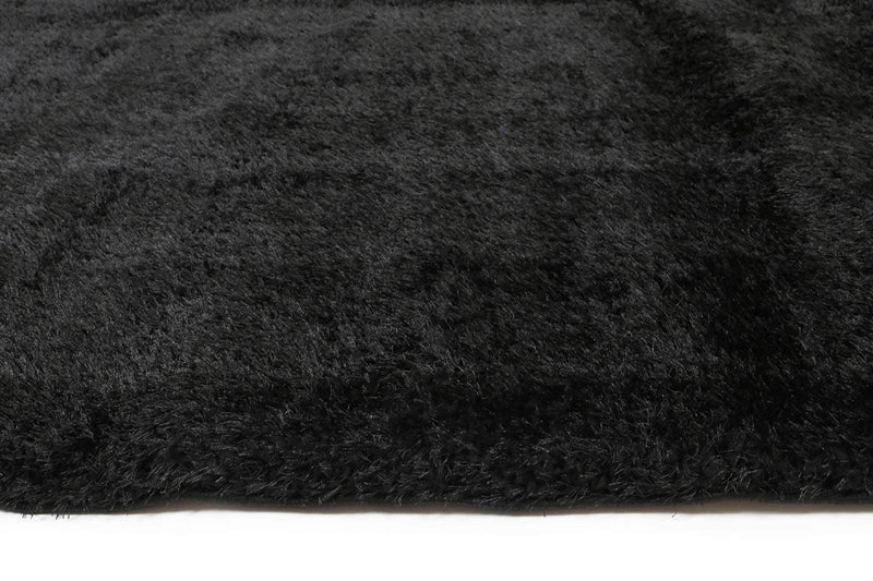 Puffy Soft Shag Black