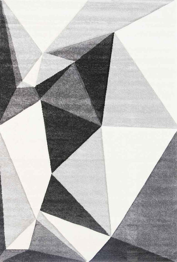 Taurus Angles Grey Rug