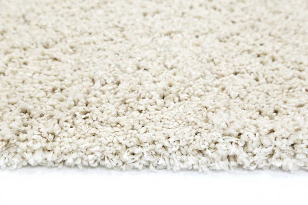 Ashen Cream Shaggy Rug