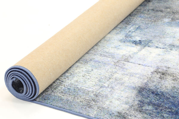 Aurora Monet Blue Rug