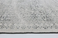 Kimberly Vintage Distressed Amazing 2 In 1 Reversible Grey Rug