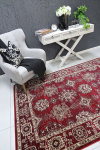 Old World Ziegler Red Rug