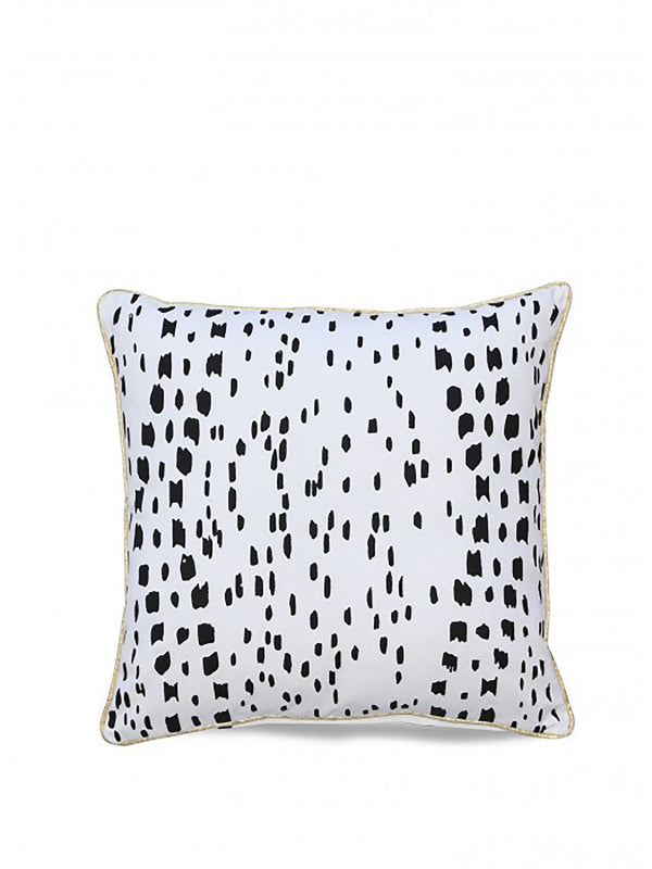 Pepper Cushion Black And White Print Rug