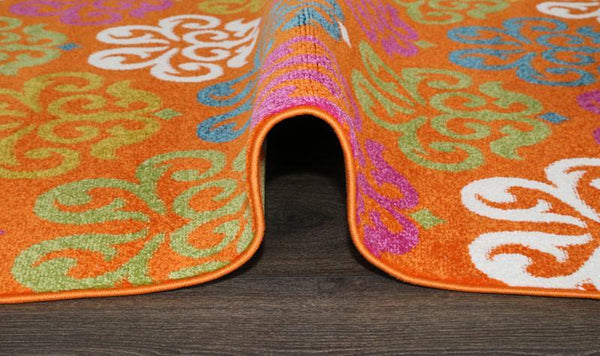 Nile Duke Orange Rug