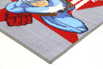 Non Slip Grey Kids Marvel Super Hero Captain America Rug