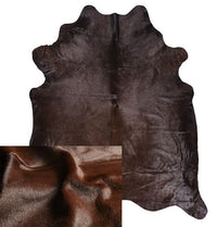 Cowhide Dyed Chocolate Rug