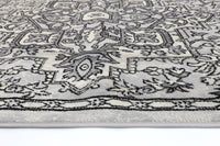 Mirage Distressed Vintage Light Grey Light Grey Rug