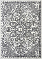 Allure Distressed Vintage Light Grey Light Grey Rug