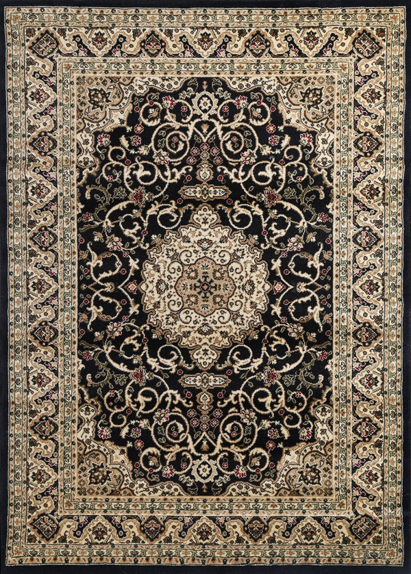 Ornate 600 Black Rug