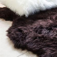 Sheepskin Merino - Chocolate Brown Rug