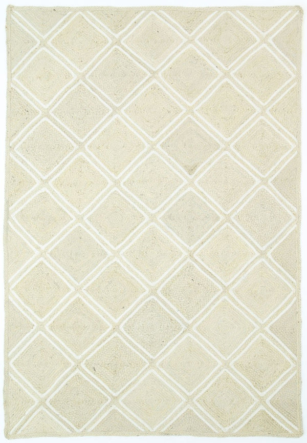 Tibet Natural Parquetry Pearl Rug