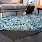 Non Slip Rug Pad For Hard Surfaces Wooden And Tiled Rug