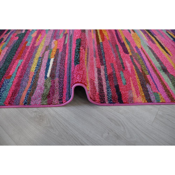 Crown F253A_Fga11 Pink Rug