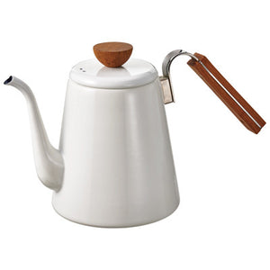 DT Coffee | Enamel Drip Coffee Kettle 1