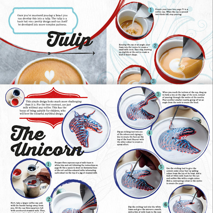 "Dhan Tamang ""Coffee Art"" Book 2"