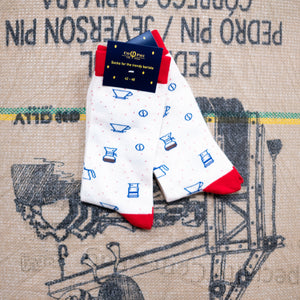 DT Cophied Coffee socks - Cream Brew socks