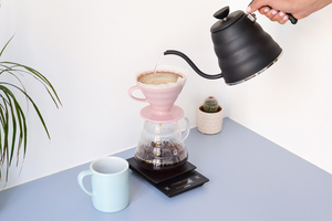 DT Coffee | Hario V60 Ceramic Dripper - Pink 2