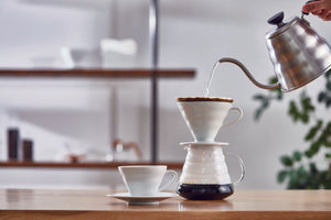 DT Coffee | Hario V60 Ceramic Dripper 02 - White 2
