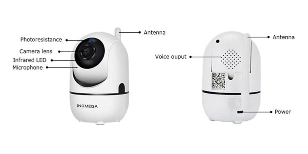 Wireless IP Camera Intelligent – waira