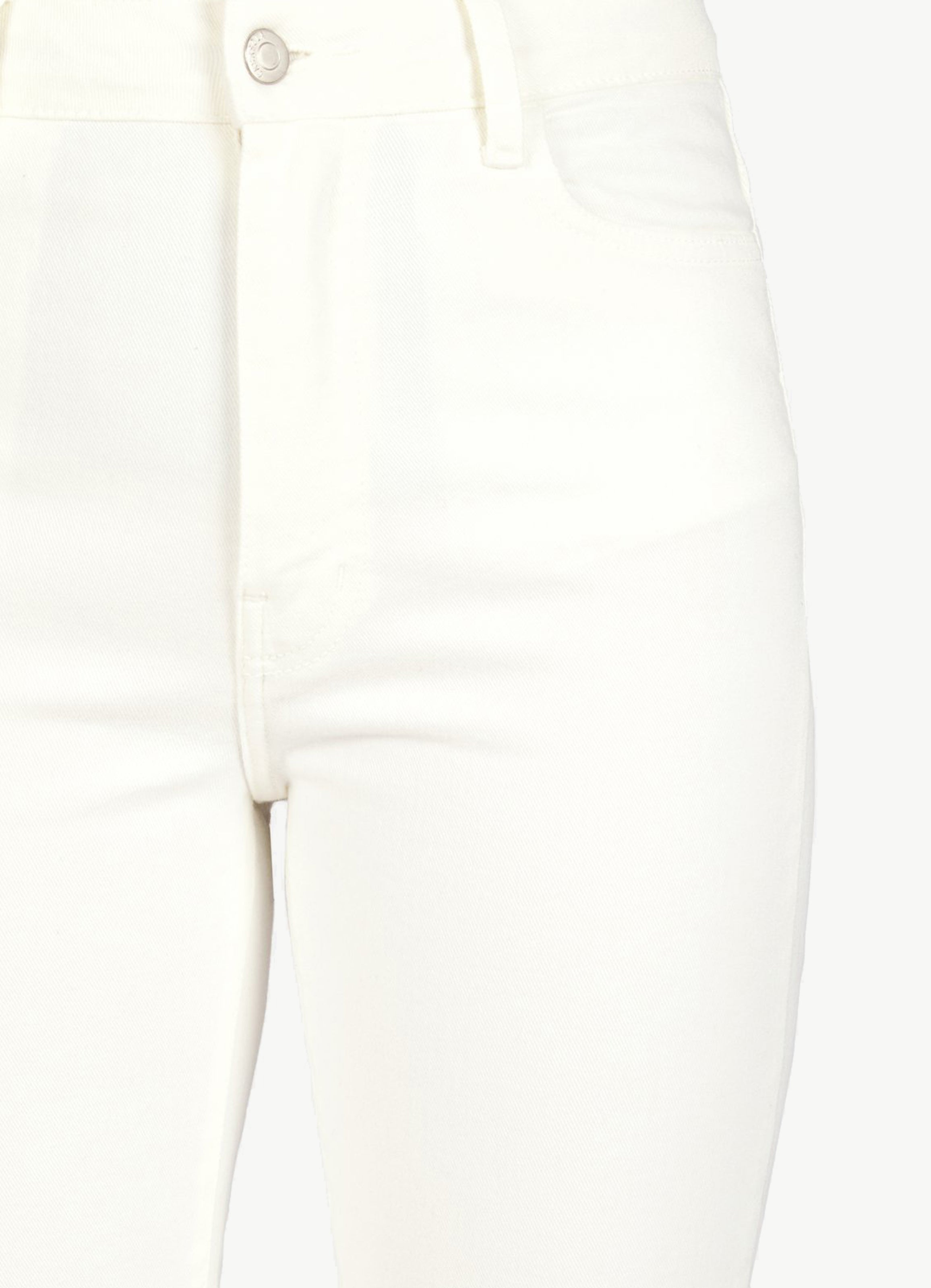 High-Waist Cut-Off Cropped Jeans