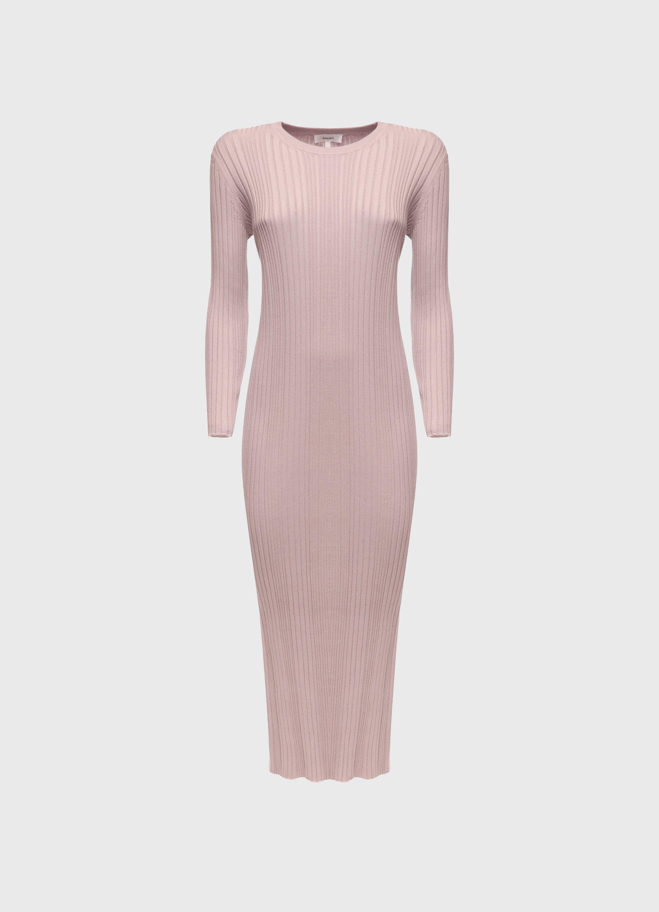 Luiza Silk-Cotton Midi Dress