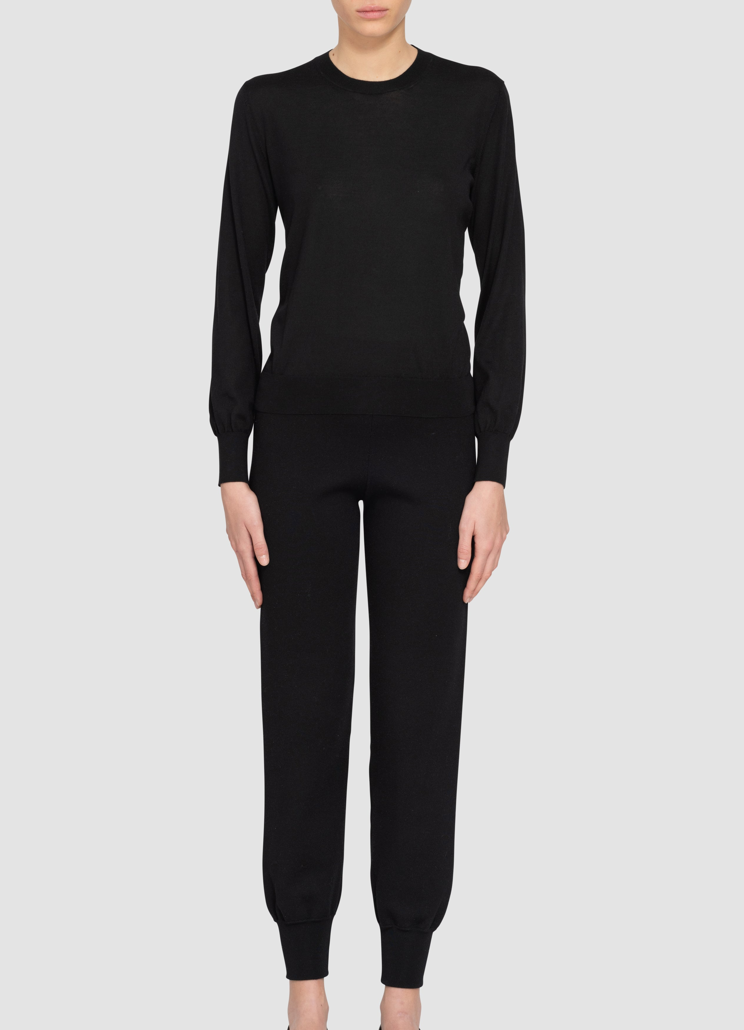 Val Cashmere-Silk Sweater